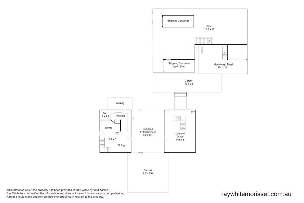 Floorplan of Homely ruralOther listing, 158 Tobins Road, Mandalong NSW 2264