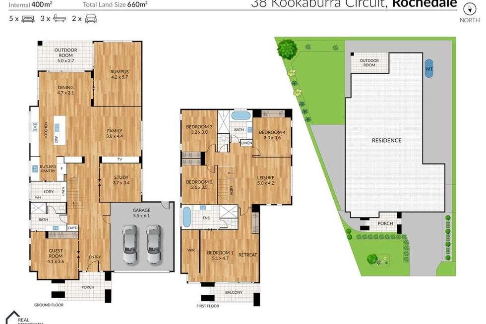 Floorplan of Homely house listing, 38 Kookaburra Circuit, Rochedale QLD 4123