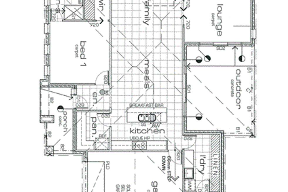 Floorplan of Homely house listing, 2 Midtown Drive, Mildura VIC 3500