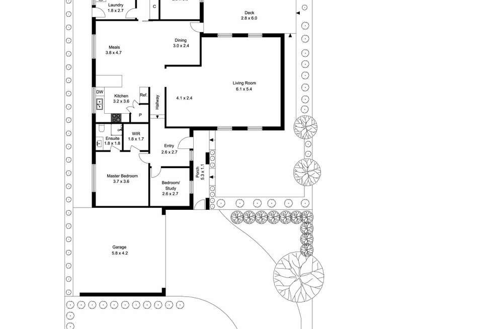 Floorplan of Homely house listing, 837 Waverley Road, Glen Waverley VIC 3150