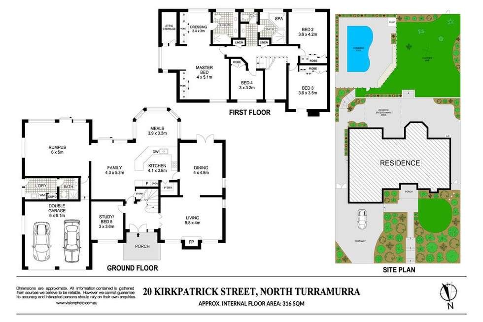 Floorplan of Homely house listing, 20 Kirkpatrick Street, Turramurra NSW 2074