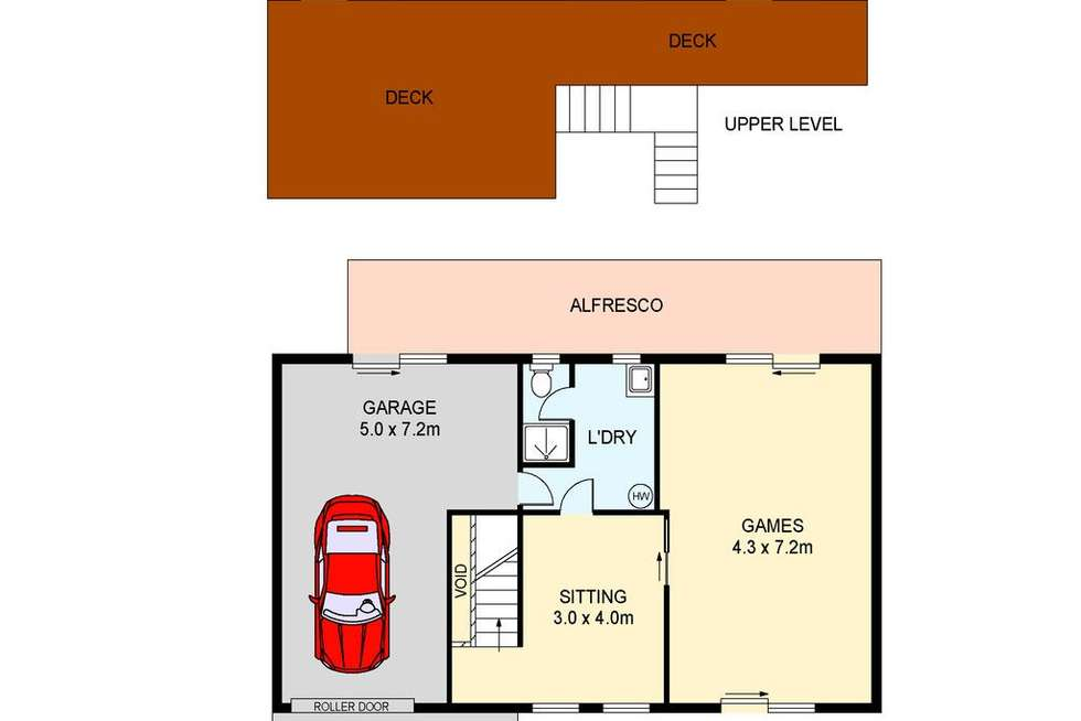 Floorplan of Homely house listing, 25 The Glen, Berkeley Vale NSW 2261