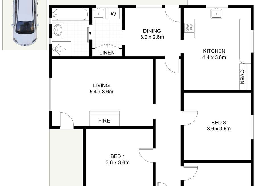 Floorplan of Homely house listing, 119 Mount Keira Road, West Wollongong NSW 2500