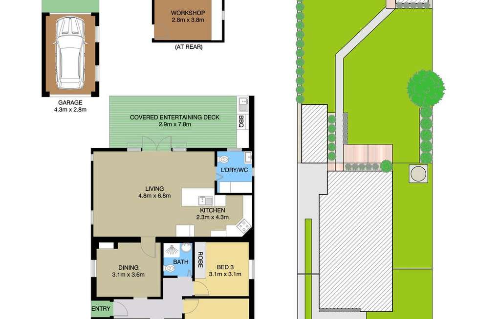 Floorplan of Homely house listing, 1100 Victoria Road, West Ryde NSW 2114