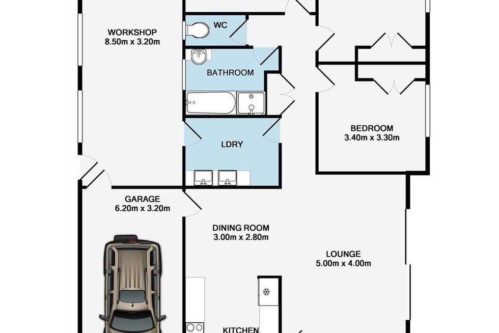 Floorplan of Homely house listing, 115 Gaynesford Street, Mount Gravatt QLD 4122