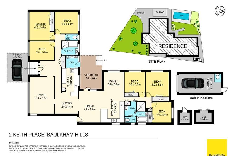 Floorplan of Homely house listing, 2 Keith Place, Baulkham Hills NSW 2153