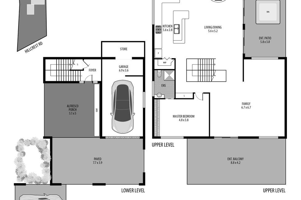 Floorplan of Homely house listing, 14 Hillcrest Road, Empire Bay NSW 2257