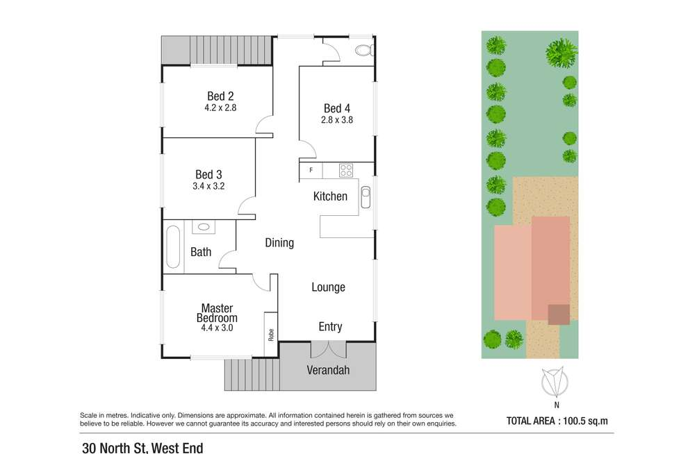 Floorplan of Homely house listing, 30 North Street, West End QLD 4810