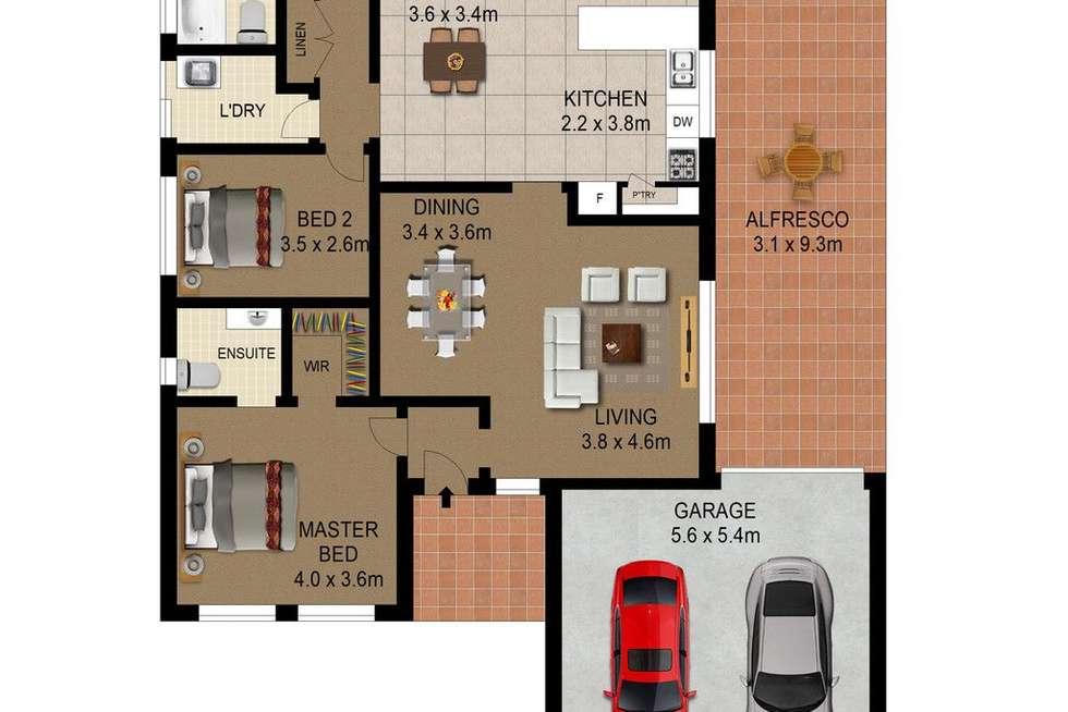Floorplan of Homely house listing, 12 Holbrook Circuit, Stanhope Gardens NSW 2768