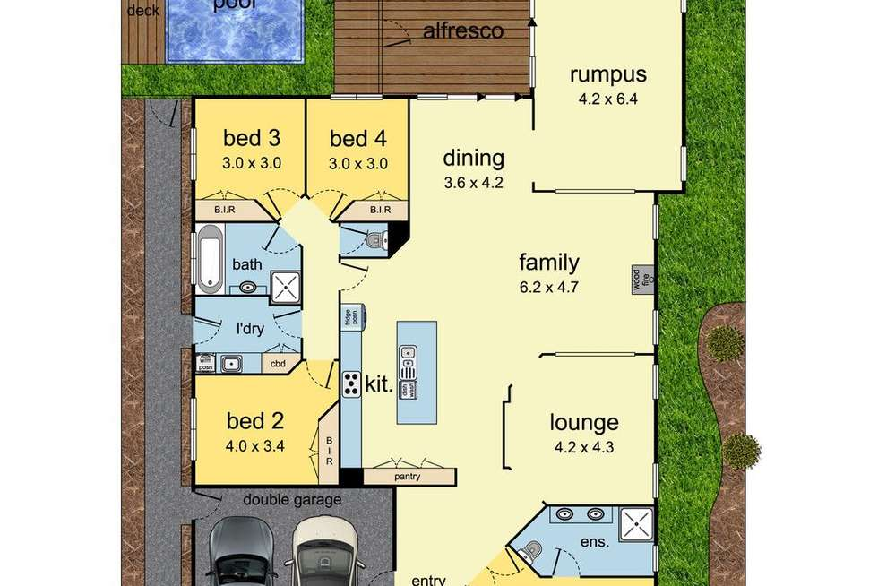 Floorplan of Homely house listing, 37 Camville Road, Mulgrave VIC 3170