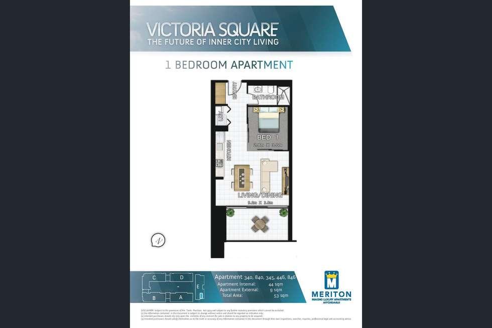 Floorplan of Homely apartment listing, 840/8 Ascot Avenue, Zetland NSW 2017