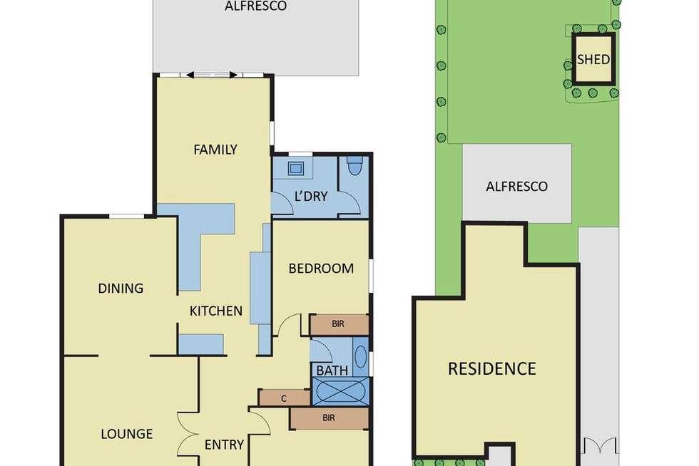Floorplan of Homely house listing, 14 Kangaroo Road, Murrumbeena VIC 3163
