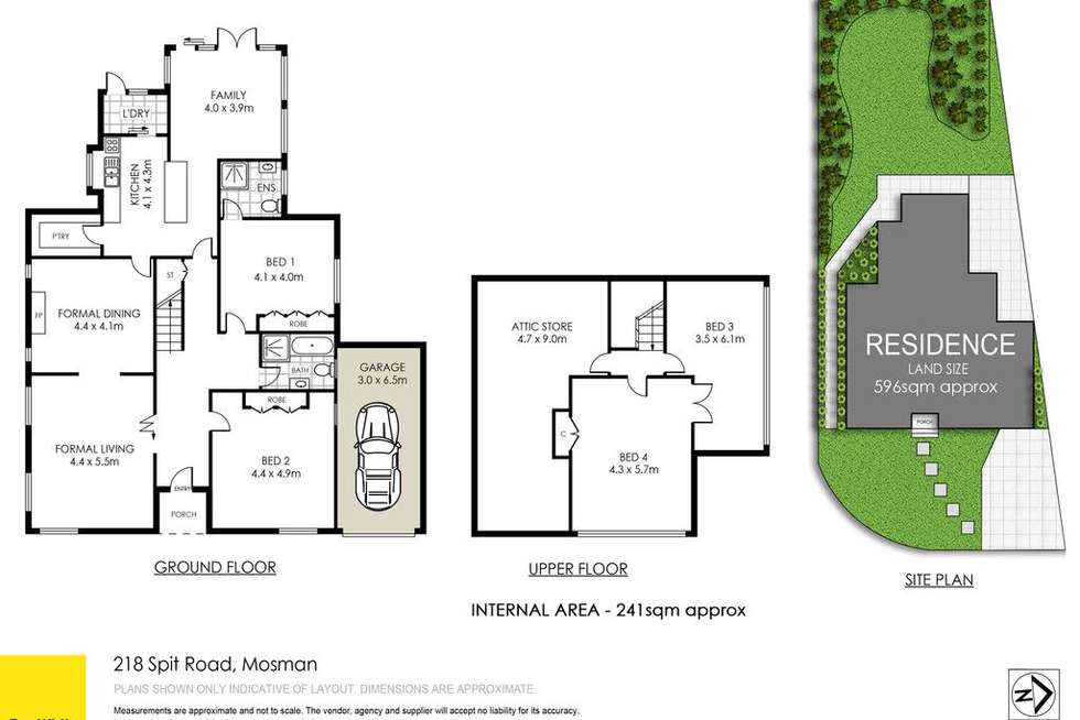 Floorplan of Homely house listing, 218 Spit Road, Mosman NSW 2088