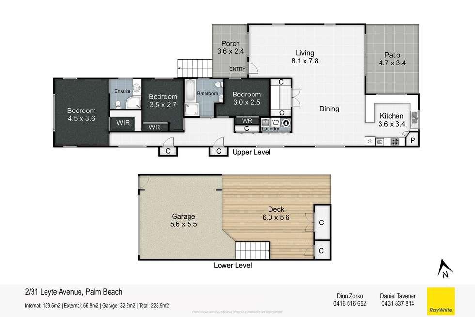 Floorplan of Homely semiDetached listing, 2/31 Leyte Avenue, Palm Beach QLD 4221