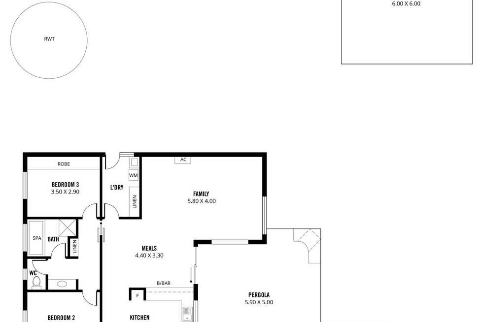 Floorplan of Homely house listing, 15 Carmen Court, Nairne SA 5252