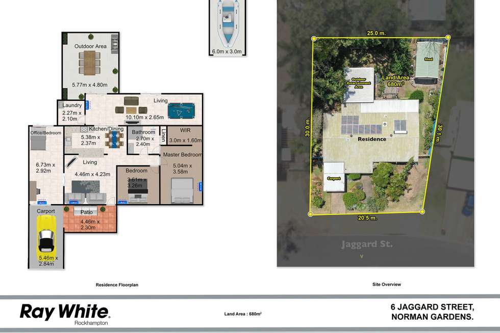 Floorplan of Homely house listing, 6 Jaggard Street, Norman Gardens QLD 4701