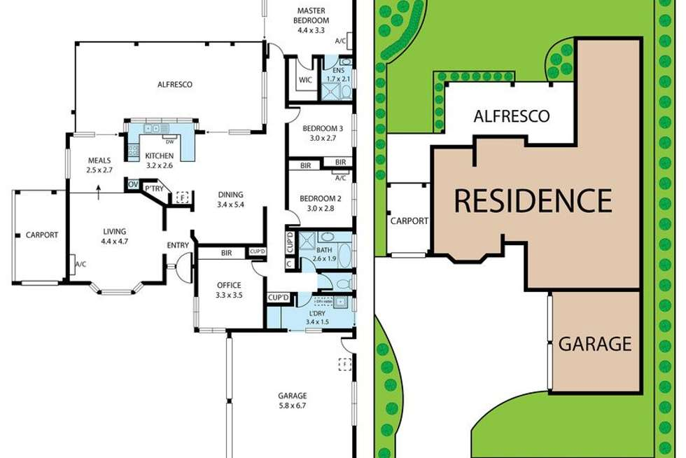 Floorplan of Homely house listing, 3 Thorne Road, Birkdale QLD 4159