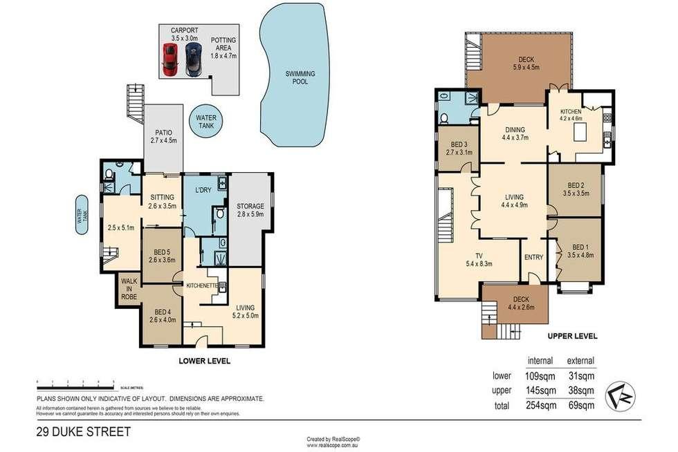 Floorplan of Homely house listing, 29 Duke Street, Ascot QLD 4007