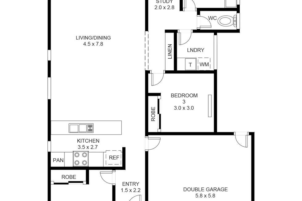 Floorplan of Homely house listing, 24 Beverley Court, Griffin QLD 4503