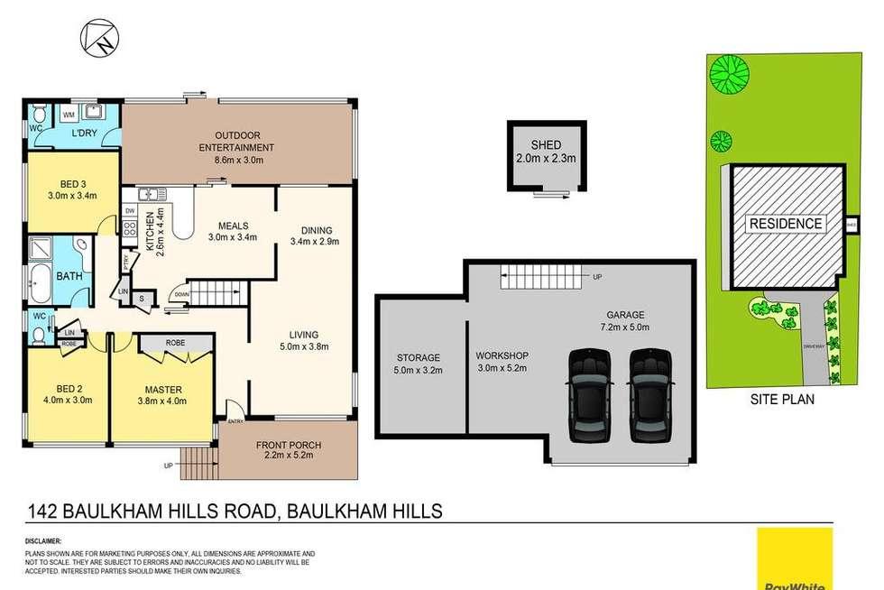 Floorplan of Homely house listing, 142 Baulkham Hills Road, Baulkham Hills NSW 2153