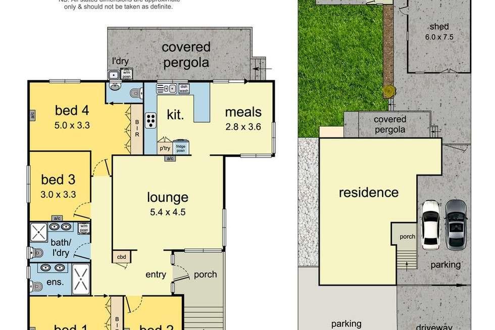 Floorplan of Homely house listing, 27 Kambara Drive, Mulgrave VIC 3170