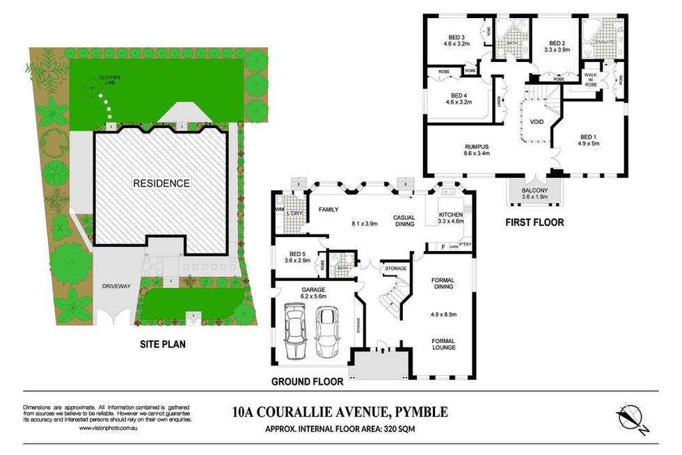 Floorplan of Homely house listing, 10A Courallie Avenue, Pymble NSW 2073