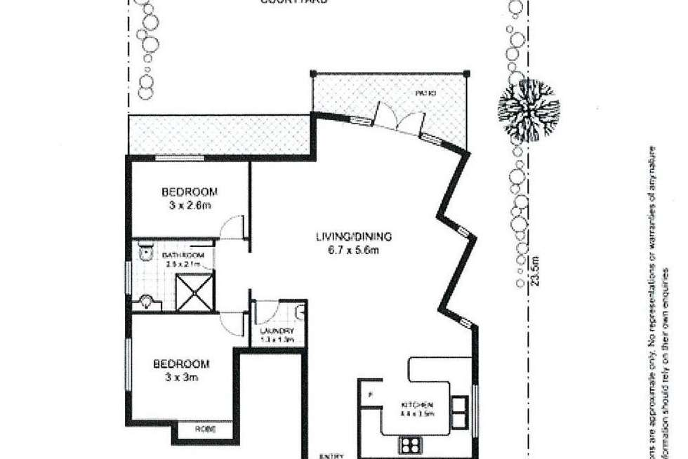 Floorplan of Homely apartment listing, 2/31 Rangers Road, Cremorne NSW 2090