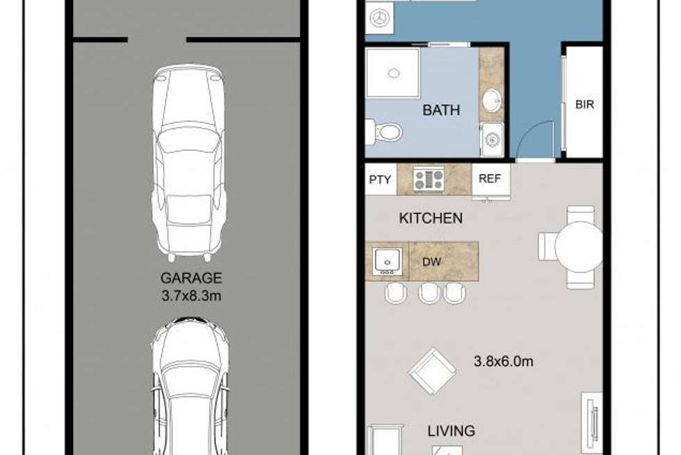 Floorplan of Homely apartment listing, 5/3 Gardiner Street, Alderley QLD 4051