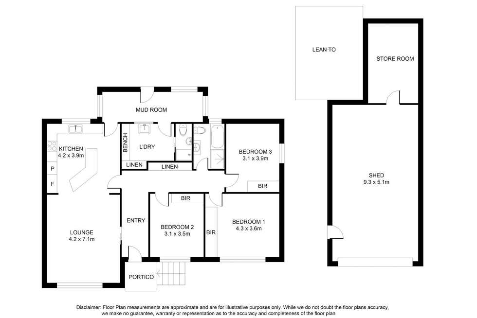 Floorplan of Homely house listing, 6 Fairlie Street, Mount Gambier SA 5290