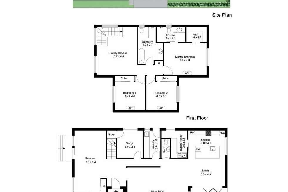 Floorplan of Homely house listing, 15 Leslie Street, Frankston South VIC 3199