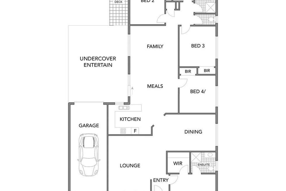 Floorplan of Homely house listing, 4 Siret Court, Roxburgh Park VIC 3064