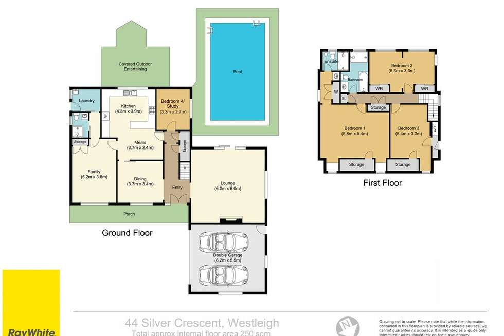 Floorplan of Homely house listing, 44 Silver Crescent, Westleigh NSW 2120
