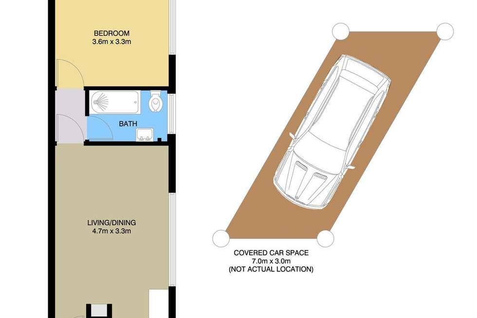 Floorplan of Homely unit listing, 5/594 Blaxland Road, Eastwood NSW 2122
