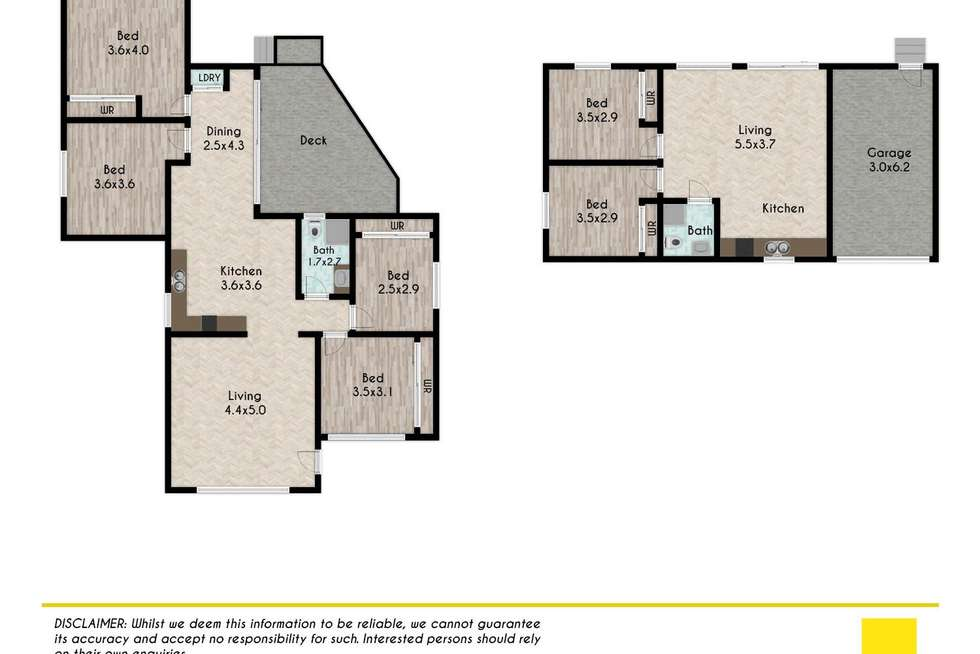 Floorplan of Homely house listing, 28&28A ROBSHAW Road, Marayong NSW 2148