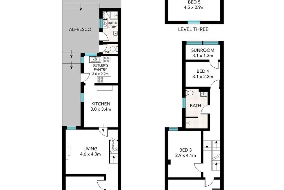 Floorplan of Homely house listing, 480 Wilson Street, Darlington NSW 2008