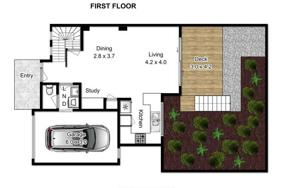 Floorplan of Homely townhouse listing, 9/38 Birdwood Road, Carina Heights QLD 4152