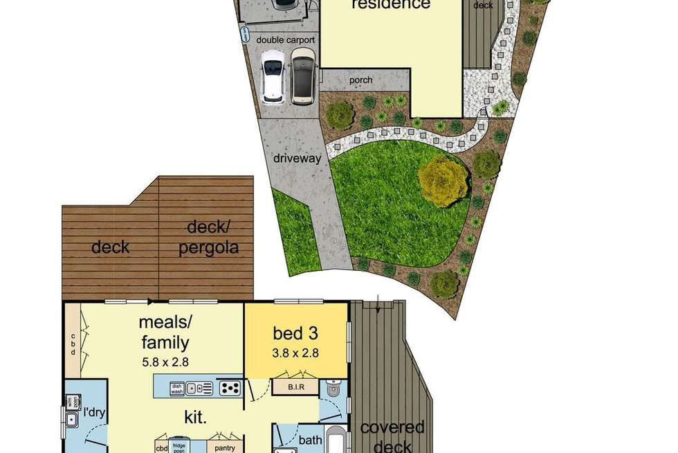 Floorplan of Homely house listing, 7 Stratford Court, Mulgrave VIC 3170