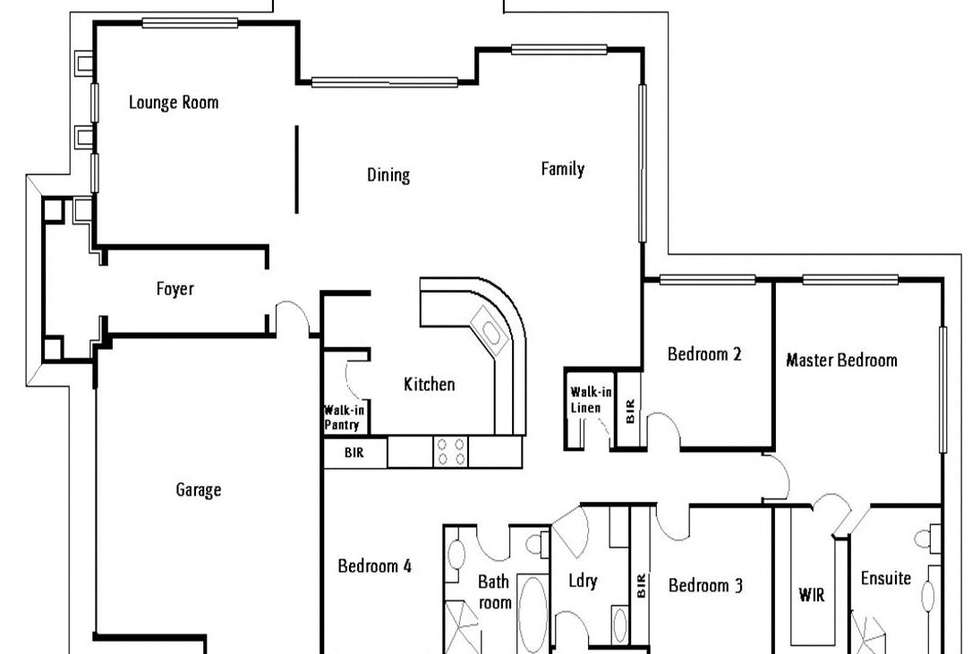Floorplan of Homely house listing, 36 Whitewood Crescent, Kellyville Ridge NSW 2155