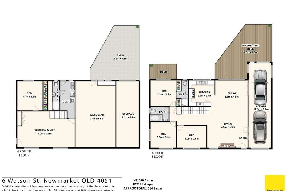 Floorplan of Homely house listing, 6 Watson Street, Newmarket QLD 4051
