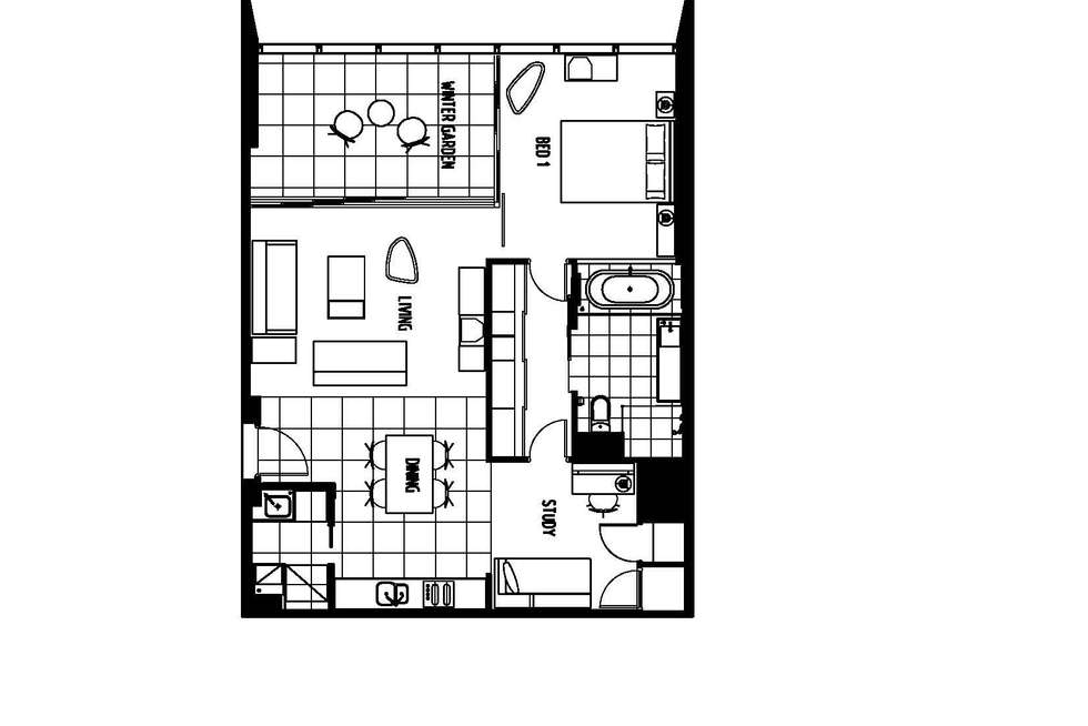 Floorplan of Homely apartment listing, 810/9 Hamilton Avenue, Surfers Paradise QLD 4217