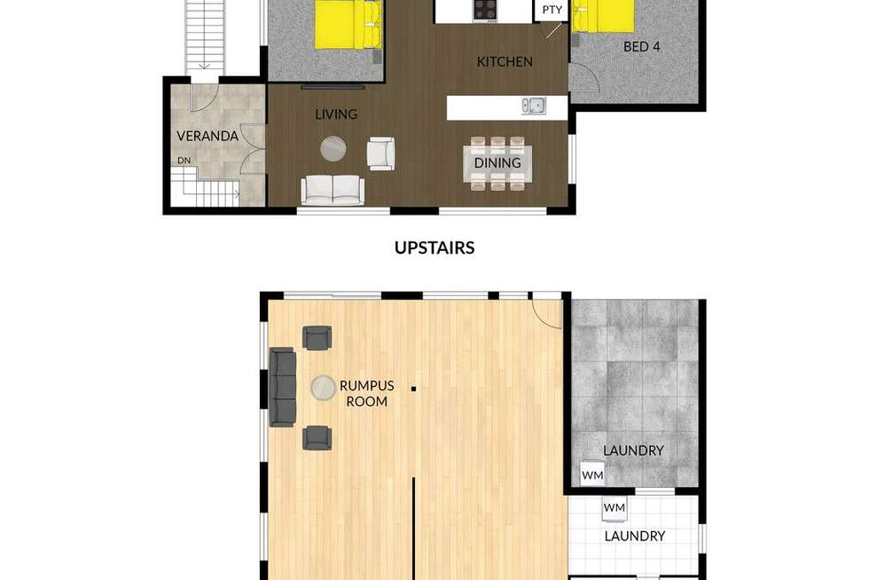 Floorplan of Homely house listing, 151 Palmerston Street, Currajong QLD 4812