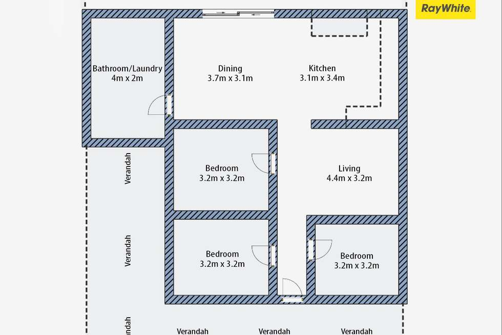 Floorplan of Homely house listing, 3 Armidale Street, South Grafton NSW 2460
