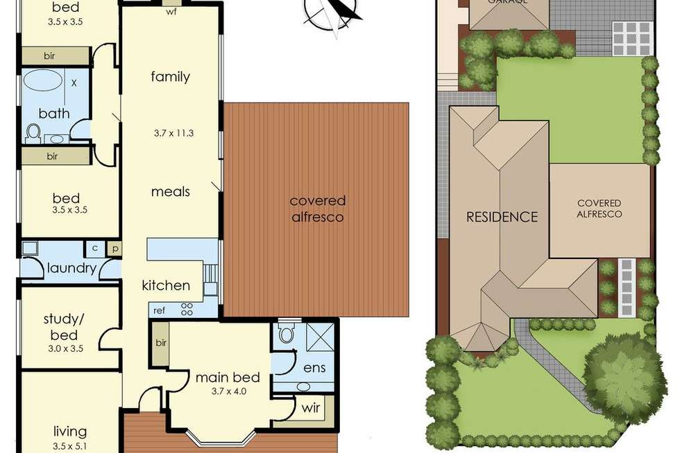 Floorplan of Homely house listing, 32 Cotoneaster Way, Langwarrin VIC 3910