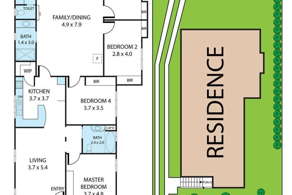 Floorplan of Homely house listing, 33 Mar Street, Holland Park QLD 4121