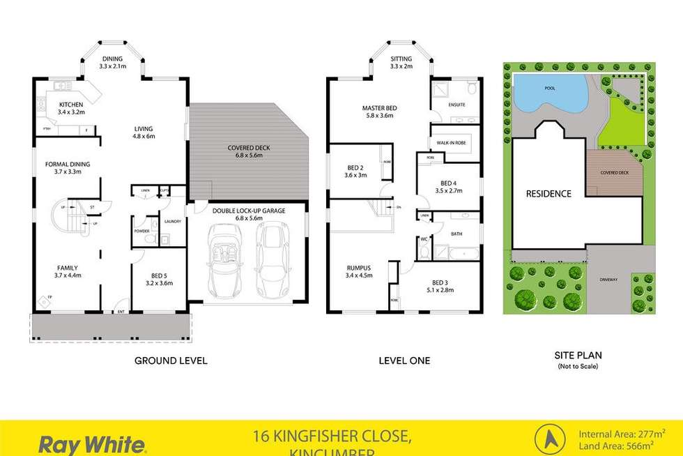 Floorplan of Homely house listing, 16 Kingfisher Close, Kincumber NSW 2251