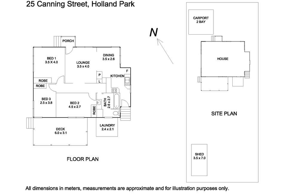 Floorplan of Homely house listing, 25 Canning Street, Holland Park QLD 4121