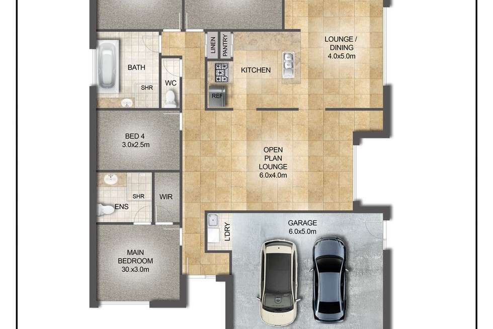 Floorplan of Homely house listing, 12 Joseph Avenue, Moggill QLD 4070