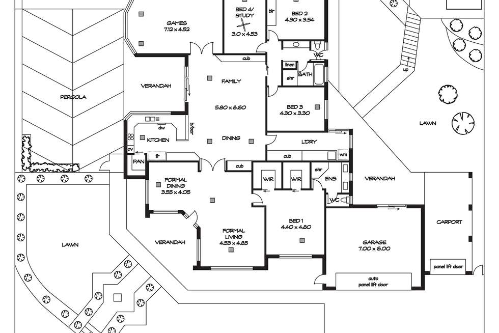 Floorplan of Homely house listing, 14 Parkside Drive, Gulfview Heights SA 5096