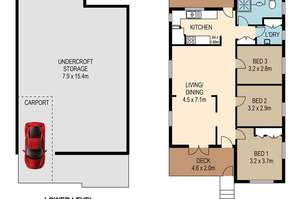 Floorplan of Homely house listing, 18 Morley Street, Toowong QLD 4066