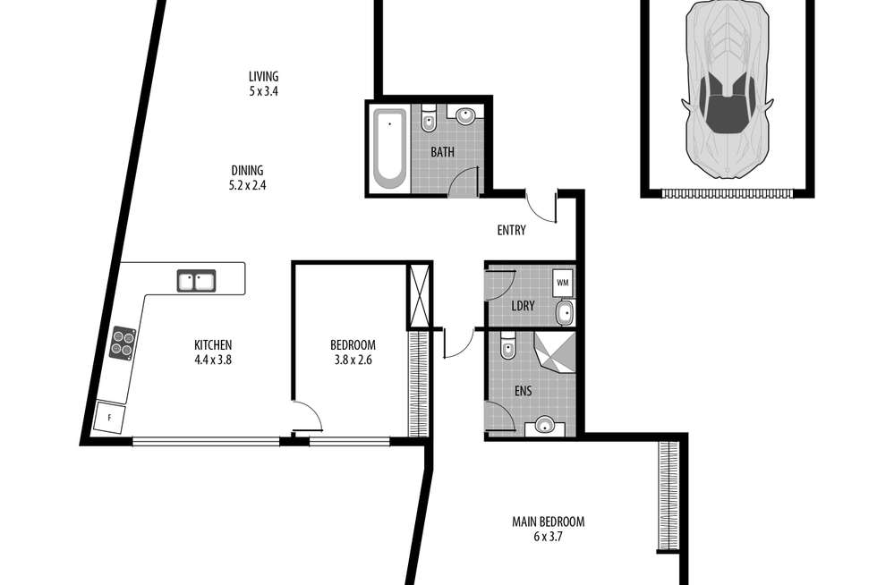 Floorplan of Homely house listing, 5/2-6 Warrigal Street, The Entrance NSW 2261